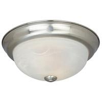 Designers Fountain ES1257L-SP-AL Lunar 3 Light 15 inch Satin Platinum Flushmount Ceiling Light