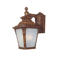Lancaster 1 Light 18 inch Aged Venetian Walnut Outdoor Wall Lantern