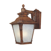 Designers Fountain Lancaster 1 Light Outdoor Wall Lantern in Aged Venetian Walnut ES20731-AVW