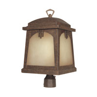 Designers Fountain Casa Grande 1 Light Post Lantern in Venetian Bronze ES21026-VBR