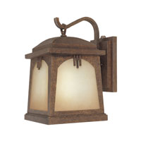 Designers Fountain Casa Grande 1 Light Outdoor Wall Lantern in Venetian Bronze ES21031-VBR