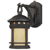 Designers Fountain Sedona 1 Light Outdoor Wall Lantern in Oil Rubbed Bronze ES2370-AM-ORB