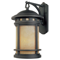Designers Fountain Sedona 1 Light Outdoor Wall Lantern in Oil Rubbed Bronze ES2371-AM-ORB
