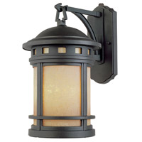 Designers Fountain Sedona 1 Light Outdoor Wall Lantern in Oil Rubbed Bronze ES2381-AM-ORB