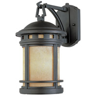 Designers Fountain Sedona 1 Light Outdoor Wall Lantern in Oil Rubbed Bronze ES2391-AM-ORB