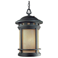 Designers Fountain ES2394-AM-ORB Sedona 1 Light 11 inch Oil Rubbed Bronze Outdoor Hanging Lantern
