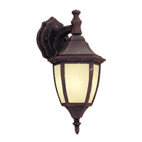 Designers Fountain Signature Cast Aluminum 1 Light Outdoor Wall Lantern in Autumn Gold ES2461-AM-AG