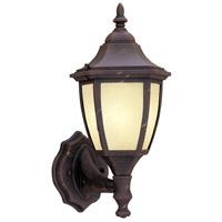 Designers Fountain Signature Cast Aluminum 1 Light Outdoor Wall Lantern in Autumn Gold ES2462-AM-AG