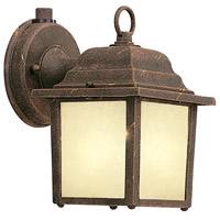 Designers Fountain Signature Cast Aluminum 1 Light Outdoor Wall Lantern in Autumn Gold ES2861-AM-AG
