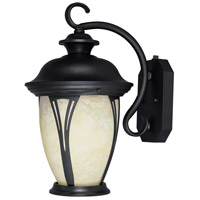 Designers Fountain Westchester 1 Light Outdoor Wall Lantern in Bronze ES30521-AM-BZ