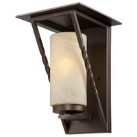 Designers Fountain Parkview 1 Light Outdoor Wall Lantern in Flemish Bronze ES31931-FBZ