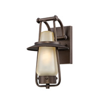 Designers Fountain Stonyridge 1 Light Outdoor Wall Lantern in Flemish Bronze ES32021-FBZ
