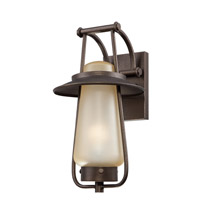 Designers Fountain Stonyridge 1 Light Outdoor Wall Lantern in Flemish Bronze ES32031-FBZ
