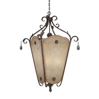 Designers Fountain San Mateo 4 Light Hall & Foyer in Ancient Oak ES91402-AO photo thumbnail