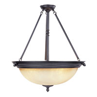 Designers Fountain Apollo 1 Light Pendant in Oil Rubbed Bronze ES94031-ORB