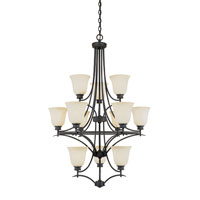 Designers Fountain Montego 12 Light Chandelier in Oil Rubbed Bronze ES969812-ORB photo thumbnail