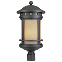Designers Fountain Sedona 1 Light Outdoor Post Lantern in Oil Rubbed Bronze FL2396-AM-ORB