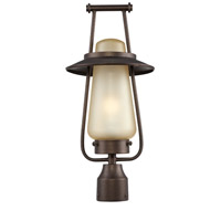 Designers Fountain Stonyridge 1 Light Outdoor Post Lantern in Flemish Bronze FL32036-FBZ