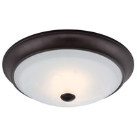 Designers Fountain Cirrus 11-inch LED Flushmount in Oil Rubbed Bronze LED1001-34