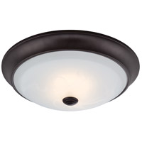 Cirrus LED 13 inch Oil Rubbed Bronze Flushmount Ceiling Light