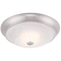 Cirrus LED 13 inch Satin Platinum Flushmount Ceiling Light