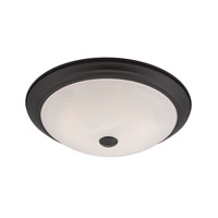 Designers Fountain Cirrus Flushmounts in Oil Rubbed Bronze LED102-ORB-AL