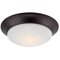 Halo LED 12 inch Oil Rubbed Bronze Flushmount Ceiling Light