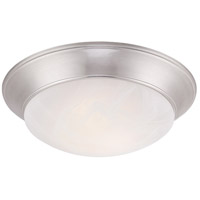 Halo LED 12 inch Satin Platinum Flushmount Ceiling Light