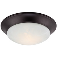 Halo LED 14 inch Oil Rubbed Bronze Flushmount Ceiling Light