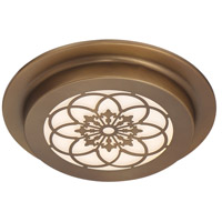 Designers Fountain LED1271-OSB Signature LED 10 inch Old Satin Brass Flushmount Ceiling Light