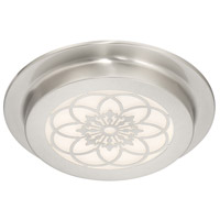 Designers Fountain LED1271-SP Signature LED 10 inch Satin Platinum Flushmount Ceiling Light