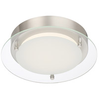 Designers Fountain LED1274-PN Signature LED 10 inch Polished Nickel Flushmount Ceiling Light