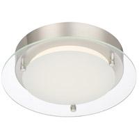 Designers Fountain LED1274-PN Signature LED 10 inch Polished Nickel Flushmount Ceiling Light