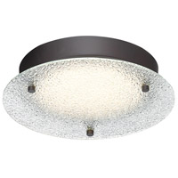 Designers Fountain LED1276-SB Signature LED 10 inch Satin Bronze Flushmount Ceiling Light