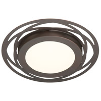 Designers Fountain LED1277-SB Signature LED 12 inch Satin Bronze Flushmount Ceiling Light