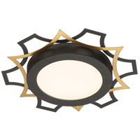 Designers Fountain LED1279-BK Signature LED 12 inch Black Flushmount Ceiling Light