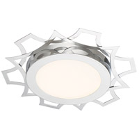 Designers Fountain LED1279-CH Signature LED 12 inch Chrome Flushmount Ceiling Light