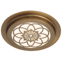 Designers Fountain LED1291-OSB Signature LED 12 inch Old Satin Brass Flushmount Ceiling Light