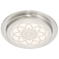 Designers Fountain LED1291-SP Signature LED 12 inch Satin Platinum Flushmount Ceiling Light
