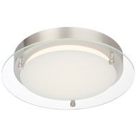Designers Fountain LED1294-PN Edge Lit LED 12 inch Polished Nickel Flushmount Ceiling Light