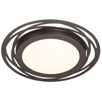 Designers Fountain LED1297-SB Signature LED 14 inch Satin Bronze Flushmount Ceiling Light