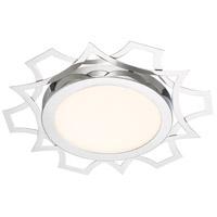 Designers Fountain LED1299-CH Signature LED 16 inch Chrome Flushmount Ceiling Light