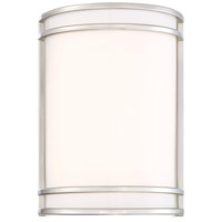 Designers Fountain Rennes 1 Light Wall Sconce in Brushed Nickel LED15011-35