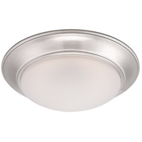 Halo LED 11 inch Satin Platinum Flushmount Ceiling Light