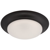 Halo LED 13 inch Oil Rubbed Bronze Flushmount Ceiling Light