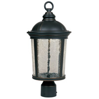 Winston LED 19 inch Aged Bronze Patina Outdoor Post Lantern
