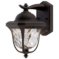 Marquette LED 10 inch Aged Bronze Patina Outdoor Wall Lantern