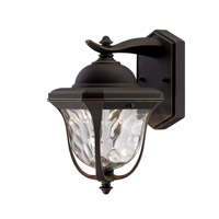 Marquette LED 14 inch Aged Bronze Patina Outdoor Wall Lantern