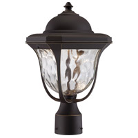 Designers Fountain Marquette Outdoor Post Lantern in Aged Bronze Patina LED21936-ABP