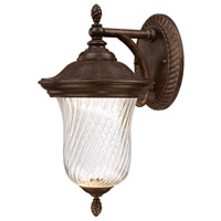 Wellington LED 14 inch Mystic Bronze Outdoor Wall Lantern